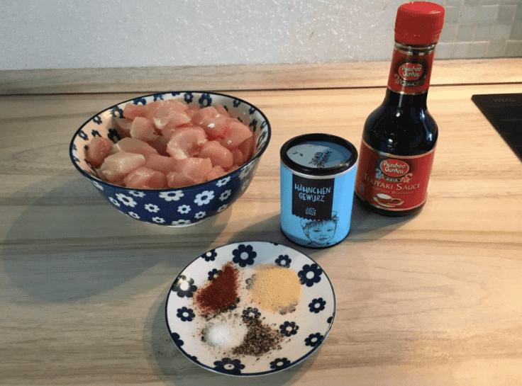 Die Teriyaki-Soße findet man in jedem gut sortierten Supermarkt