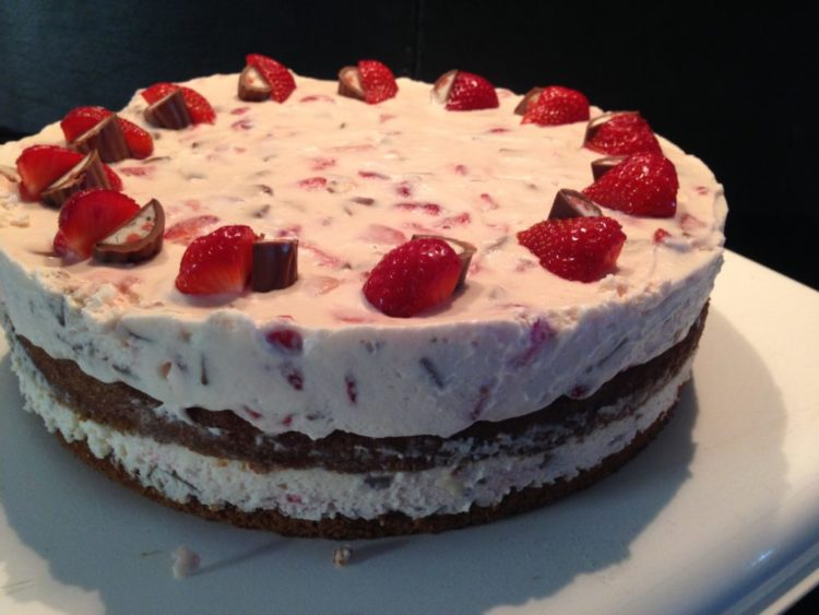 Yogurette-Torte