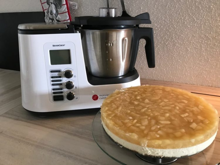 Apfel mascarpone torte mit dem monsieur cuisine plus - Opiniones monsieur cuisine plus ...