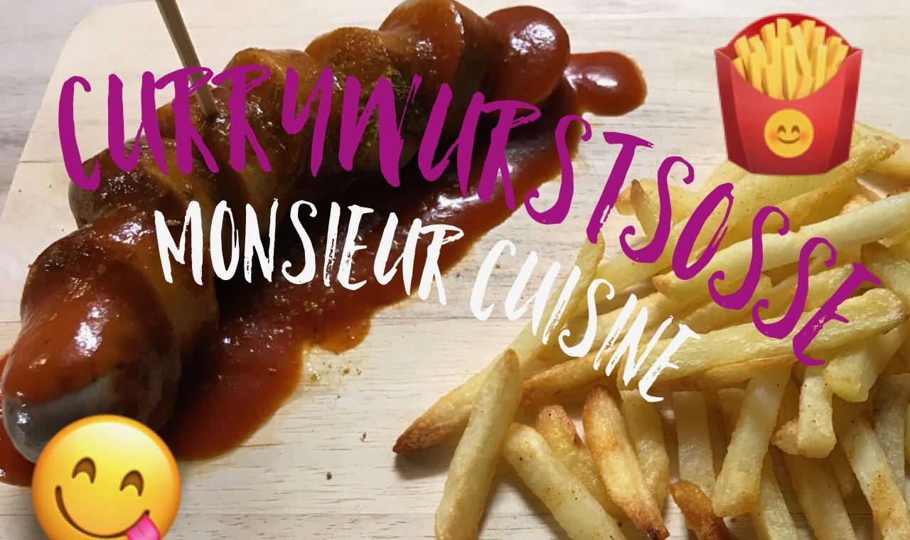 Weltbeste Currywurstsoße mit dem Monsieur Cuisine Plus
