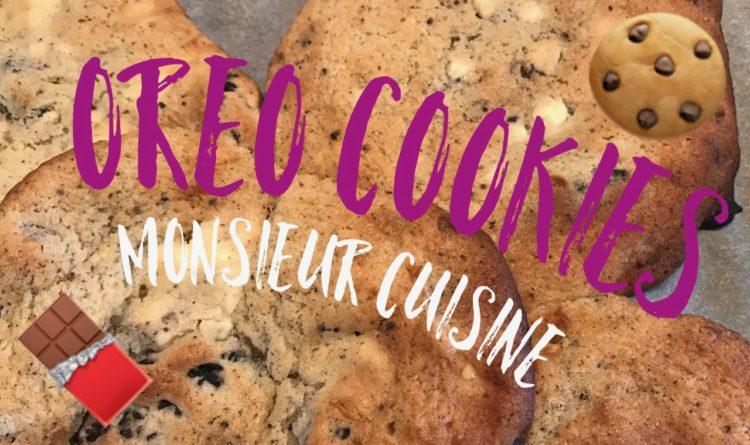 Oreo-Cookies mit weißer Schokolade
