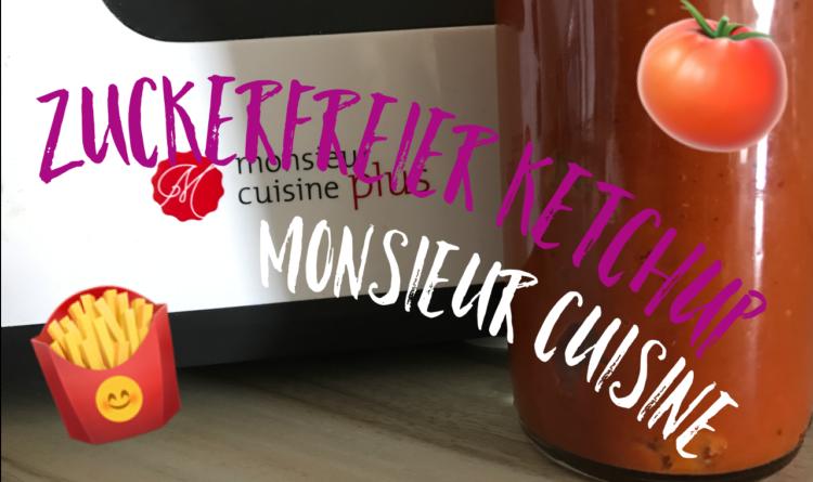 Zuckerfreier Ketchup – Monsieur Cuisine Plus